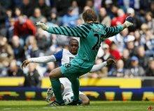 Tomasz Kuszczak przeciw Blackburn